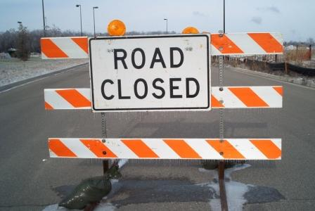 Image result wey dey for road closed gif